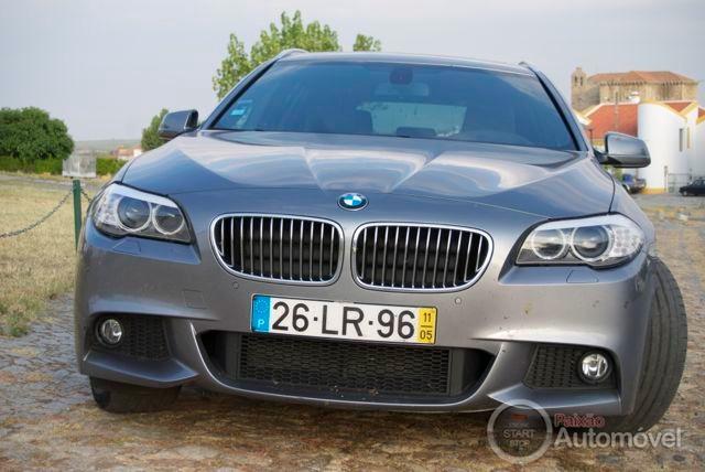 Ensaio à nova carrinha BMW 520d Touring por Terras Alentejanas