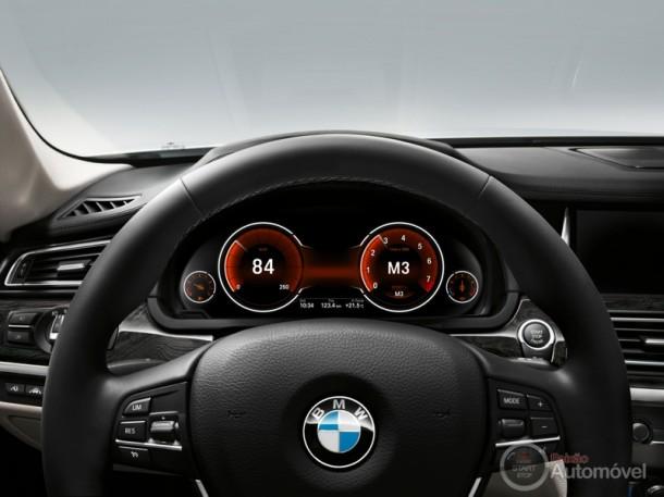 BMW Série 7 Pormenores do Interior