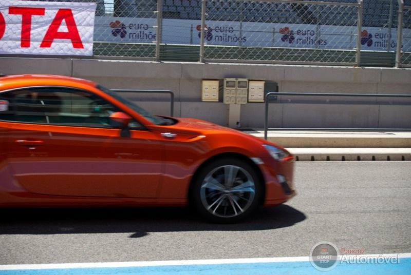 Toyota GT 86 no Autódromo Internacional de Portimão