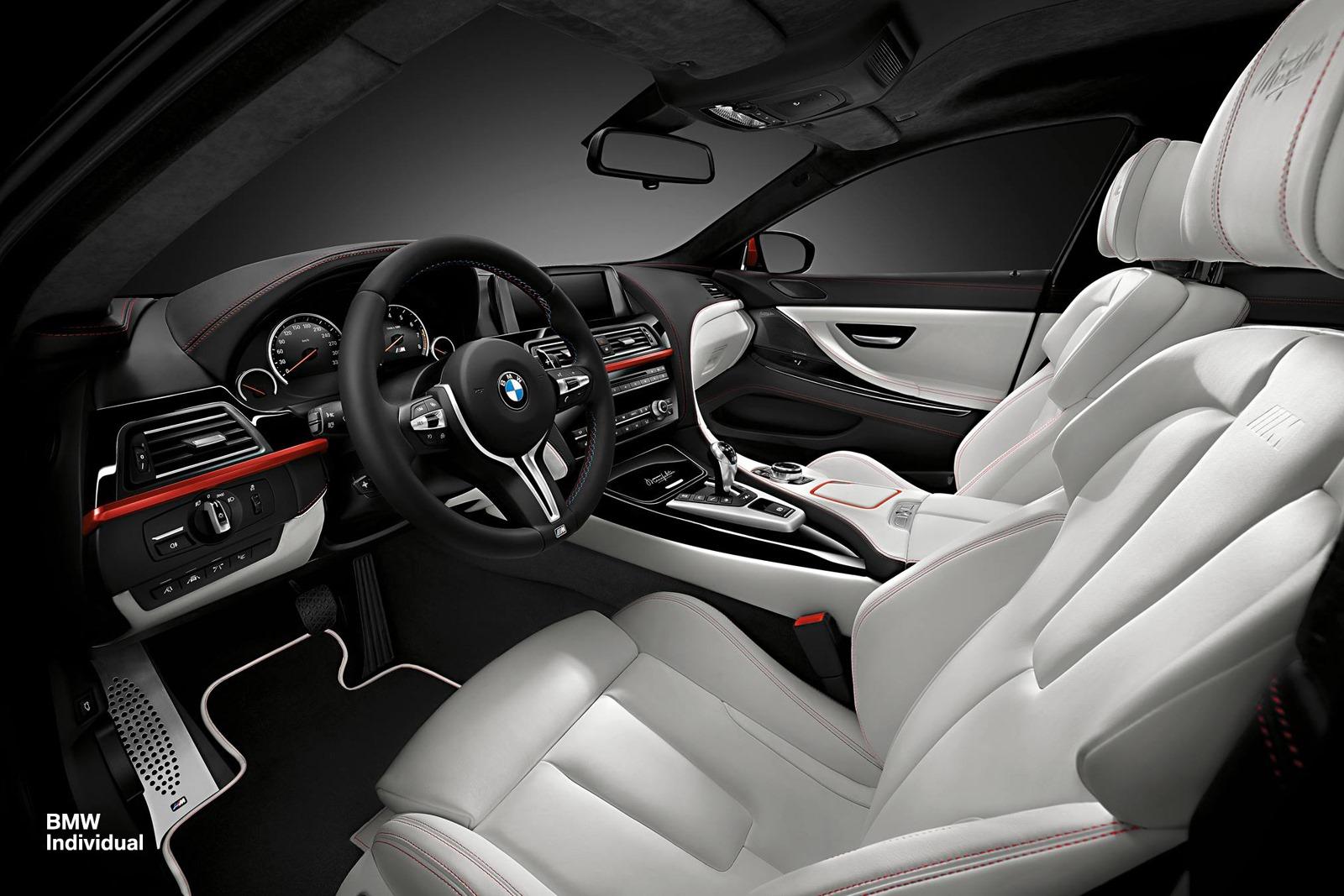 Design e estilo da bmw individual consegue tornar m6 em - Bmw m6 gran coupe interior ...