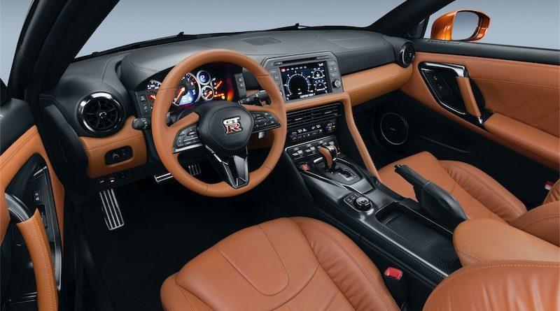 Nissan GT-R 2017 Interior