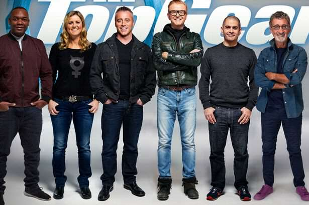 Top Gear 2016 Cast