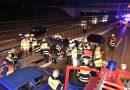 Acidente Tesla e VW Passat na Alemanha