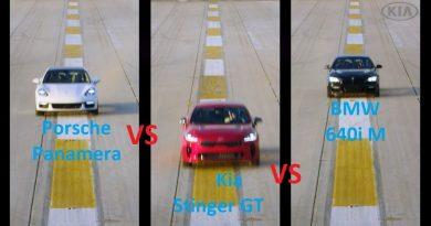 Porsche Panamera vs BMW 630iM vs Kia Stinger GT